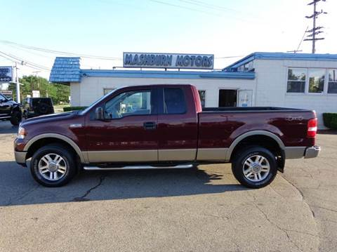 2005 Ford F-150 for sale at Mashburn Motors in Saint Clair MI