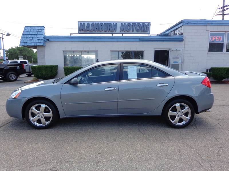 2008 Pontiac G6 for sale at Mashburn Motors in Saint Clair MI