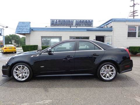 2011 Cadillac CTS-V for sale at Mashburn Motors in Saint Clair MI