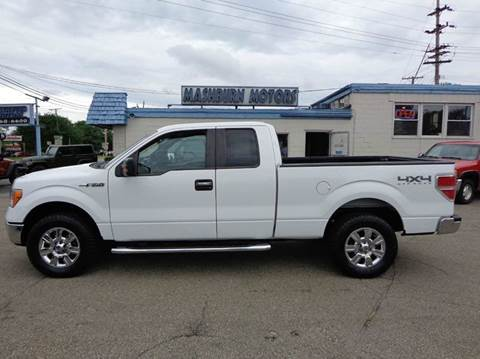 2011 Ford F-150 for sale at Mashburn Motors in Saint Clair MI