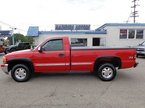 2000 GMC Sierra 1500 for sale at Mashburn Motors in Saint Clair MI