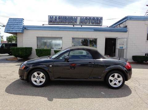 2001 Audi TT for sale at Mashburn Motors in Saint Clair MI