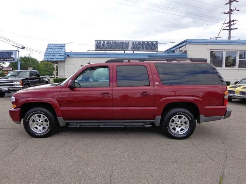2004 Chevrolet Suburban for sale at Mashburn Motors in Saint Clair MI