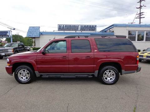 2004 Chevrolet Suburban for sale at Mashburn Motors in Saint Clair MI