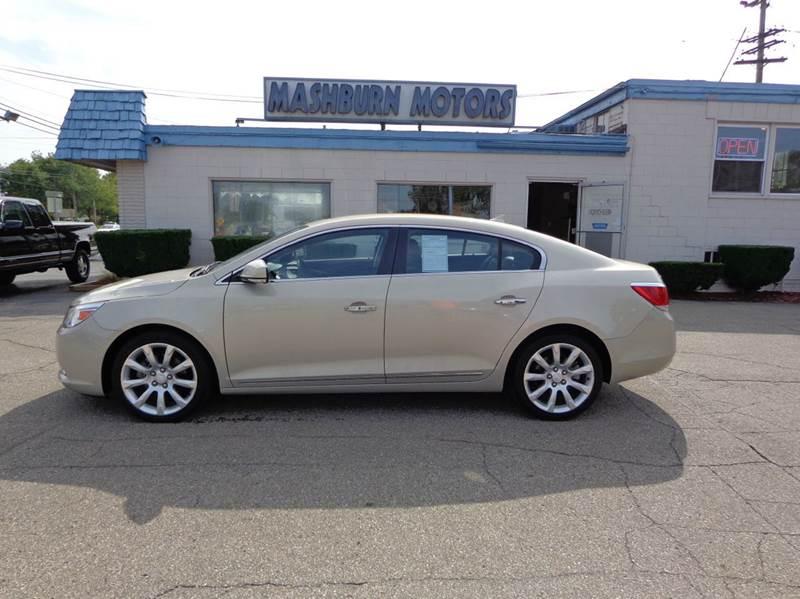 2010 Buick LaCrosse for sale at Mashburn Motors in Saint Clair MI