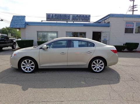 2010 Buick LaCrosse for sale at Mashburn Motors in Saint Clair MI