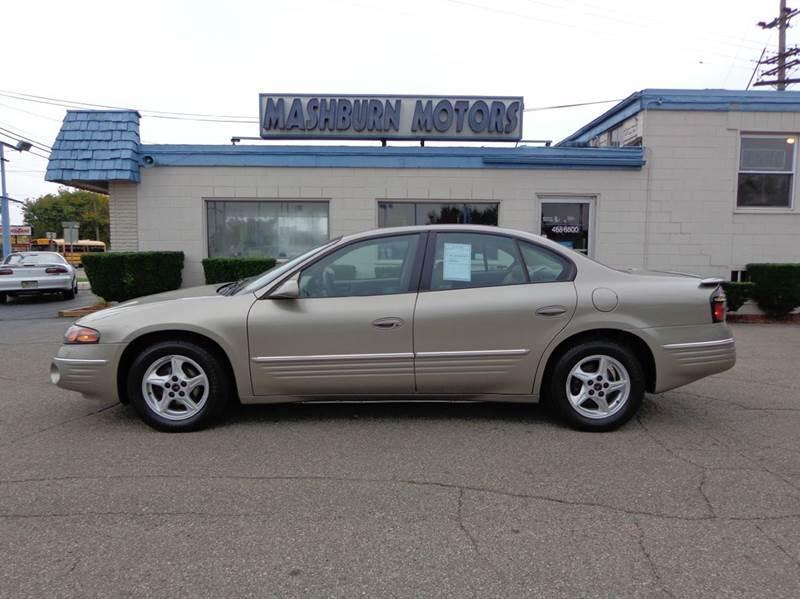 2001 Pontiac Bonneville for sale at Mashburn Motors in Saint Clair MI