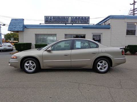 2001 Pontiac Bonneville for sale at Mashburn Motors in Saint Clair MI