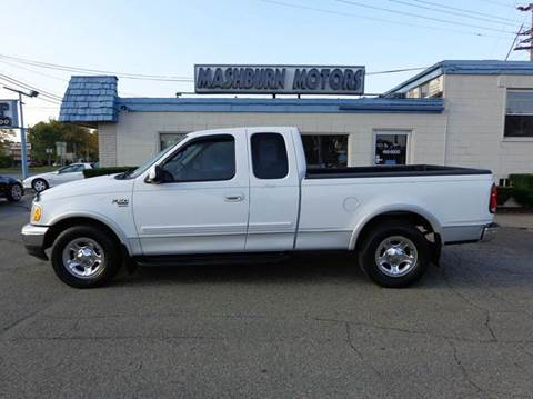 2002 Ford F-150 for sale at Mashburn Motors in Saint Clair MI