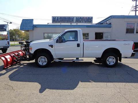 2009 Ford F-250 Super Duty for sale at Mashburn Motors in Saint Clair MI