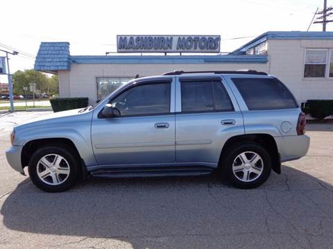 2006 Chevrolet TrailBlazer for sale at Mashburn Motors in Saint Clair MI