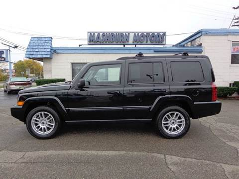 2009 Jeep Commander for sale at Mashburn Motors in Saint Clair MI