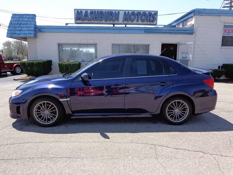 2013 Subaru Impreza for sale at Mashburn Motors in Saint Clair MI