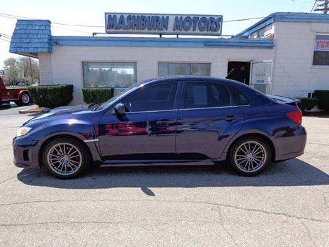 2013 Subaru Impreza for sale at Mashburn Motors in Saint Clair MI