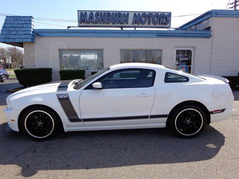 2013 Ford Mustang for sale at Mashburn Motors in Saint Clair MI