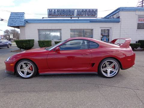 1994 Toyota Supra for sale at Mashburn Motors in Saint Clair MI