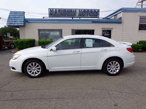2013 Chrysler 200 for sale at Mashburn Motors in Saint Clair MI