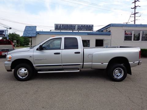 2006 Dodge Ram Pickup 3500 for sale at Mashburn Motors in Saint Clair MI