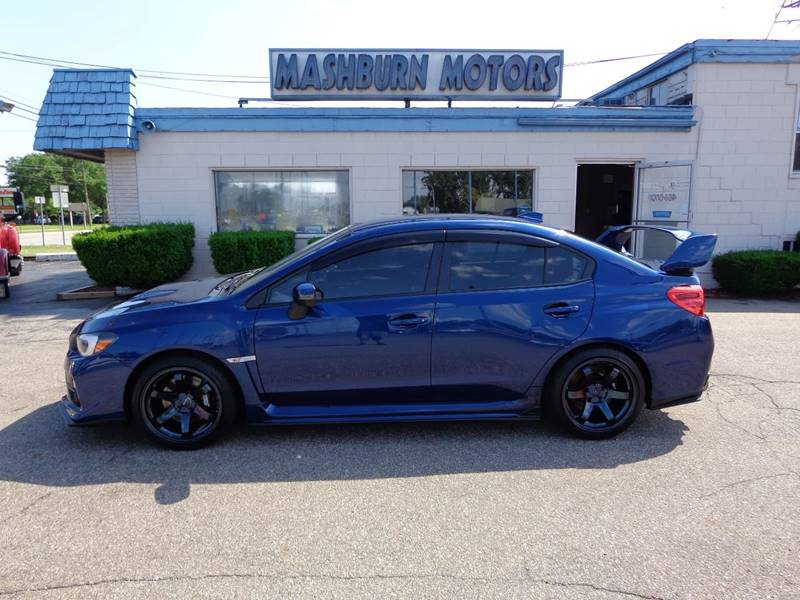 2015 Subaru WRX for sale at Mashburn Motors in Saint Clair MI