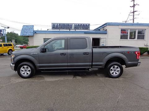 2016 Ford F-150 for sale at Mashburn Motors in Saint Clair MI