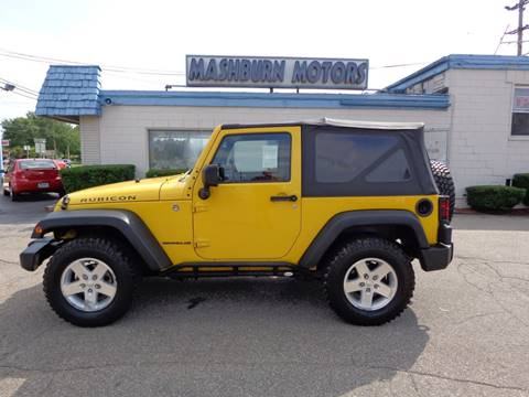 2009 Jeep Wrangler for sale at Mashburn Motors in Saint Clair MI
