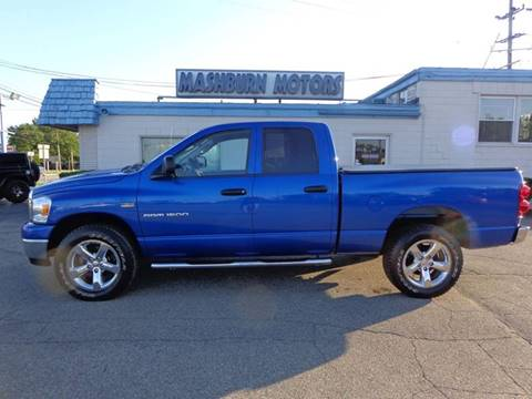 2007 Dodge Ram Pickup 1500 for sale at Mashburn Motors in Saint Clair MI