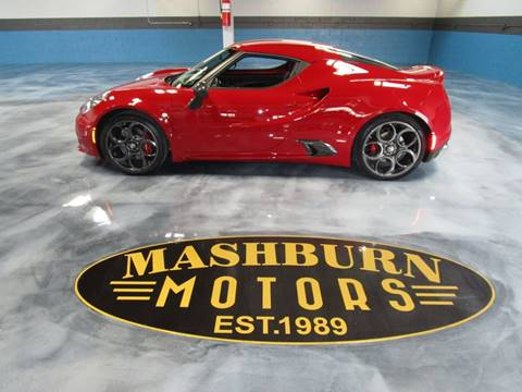 2015 Alfa Romeo 4C for sale in Saint Clair, MI