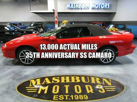 2002 Chevrolet Camaro Z28 for sale at Mashburn Motors in Saint Clair MI
