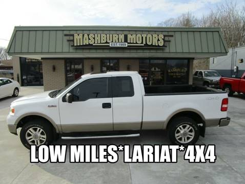 2005 Ford F-150 Lariat for sale at Mashburn Motors in Saint Clair MI