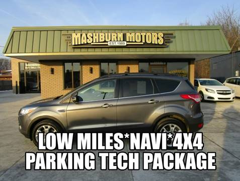 2013 Ford Escape SEL for sale at Mashburn Motors in Saint Clair MI