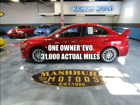 2015 Mitsubishi Lancer Evolution GSR for sale at Mashburn Motors in Saint Clair MI