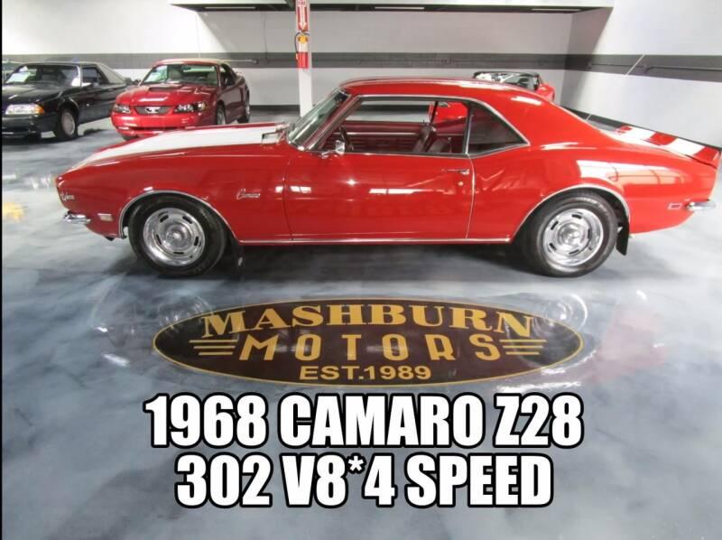 1968 Chevrolet Camaro for sale at Mashburn Motors in Saint Clair MI