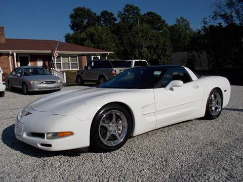 2004 Chevrolet Corvette for sale at Carolina Auto Connection & Motorsports in Spartanburg SC