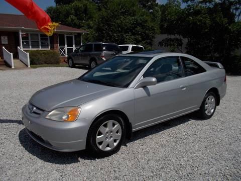 2001 Honda Civic for sale in Spartanburg, SC
