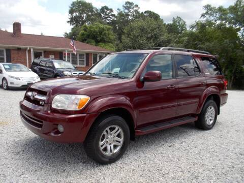 2006 Toyota Sequoia for sale at Carolina Auto Connection & Motorsports in Spartanburg SC