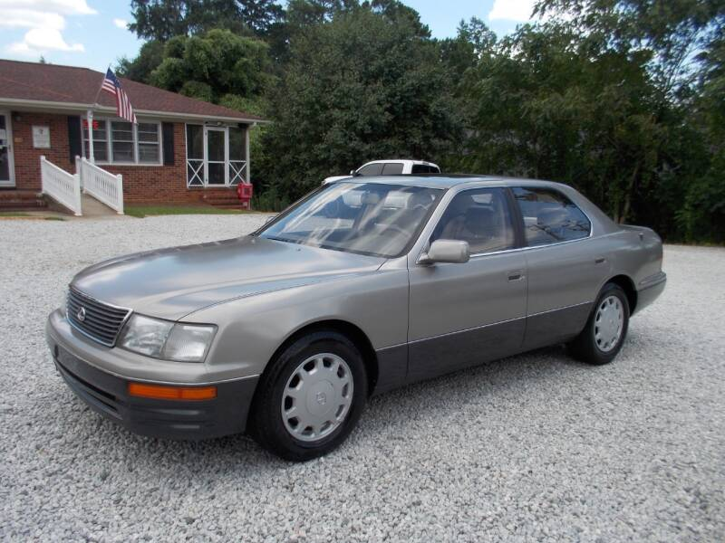 1997 Lexus LS 400 for sale at Carolina Auto Connection & Motorsports in Spartanburg SC