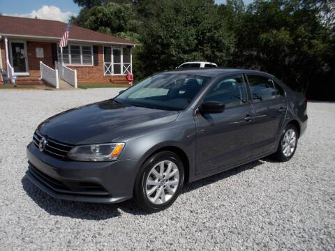 2015 Volkswagen Jetta for sale at Carolina Auto Connection & Motorsports in Spartanburg SC