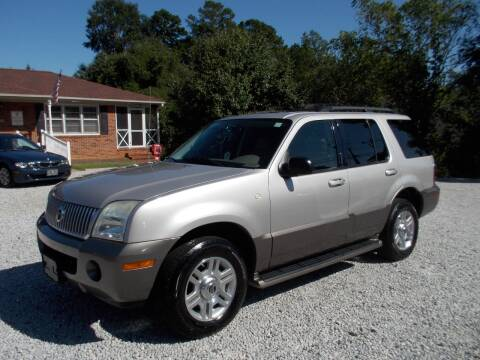 2004 Mercury Mountaineer for sale at Carolina Auto Connection & Motorsports in Spartanburg SC