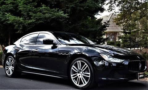 2015 Maserati Ghibli for sale at Legacy Motors Inc in Roseville CA