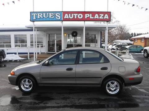 1998 Mazda Protege for sale at True's Auto Plaza in Union Gap WA