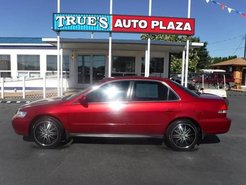 2002 Honda Accord for sale at True's Auto Plaza in Union Gap WA