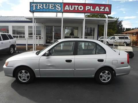 2000 Hyundai Accent for sale at True's Auto Plaza in Union Gap WA