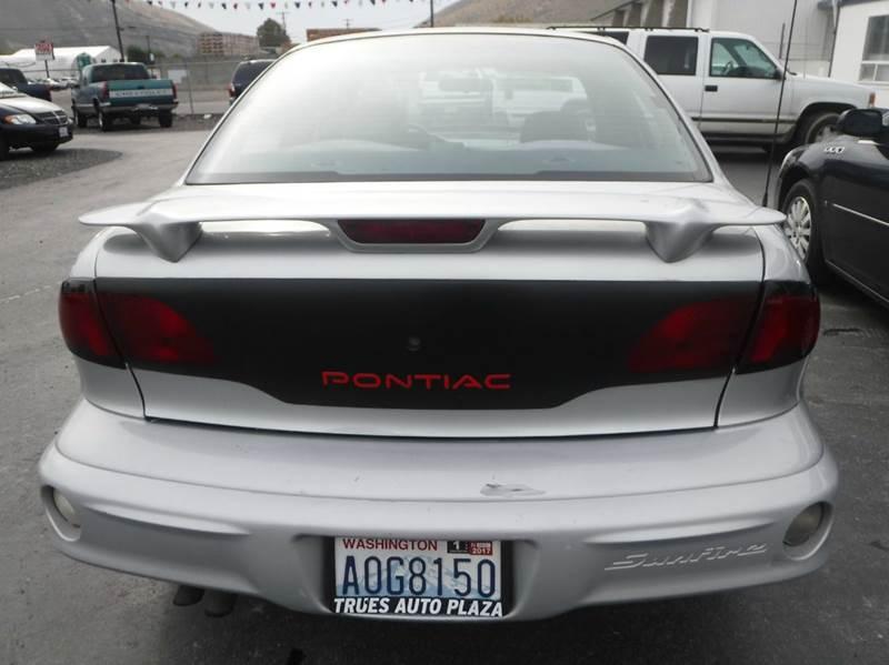 2001 Pontiac Sunfire for sale at True's Auto Plaza in Union Gap WA