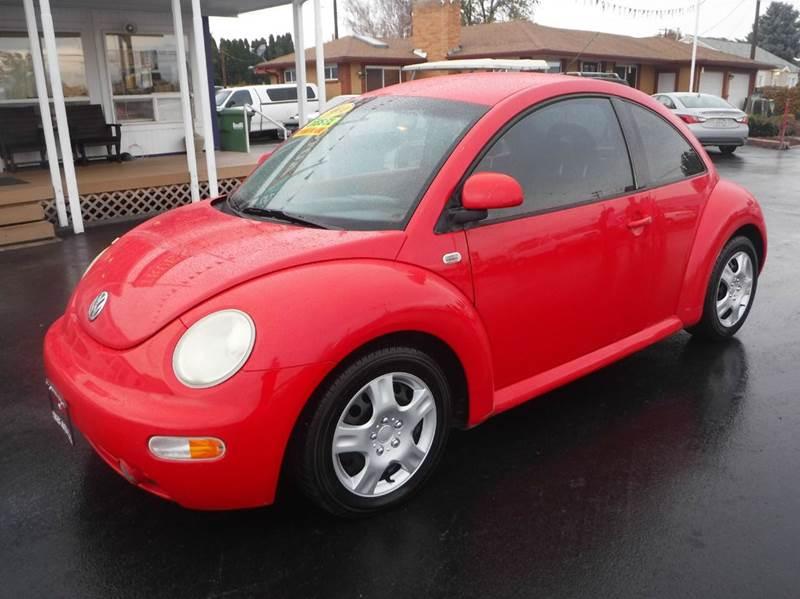 1999 Volkswagen New Beetle for sale at True's Auto Plaza in Union Gap WA