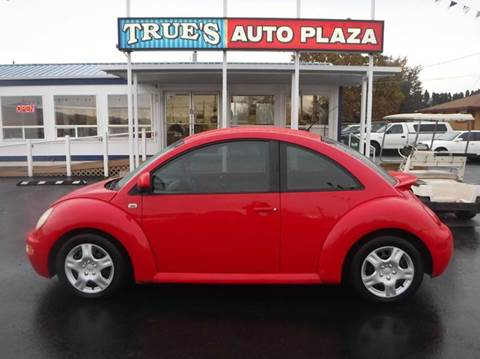 1999 Volkswagen New Beetle for sale at True's Auto Plaza in Union Gap WA