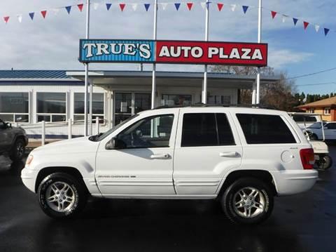 1999 Jeep Grand Cherokee for sale at True's Auto Plaza in Union Gap WA