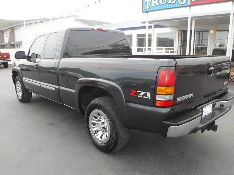 2005 GMC Sierra 1500 for sale at True's Auto Plaza in Union Gap WA