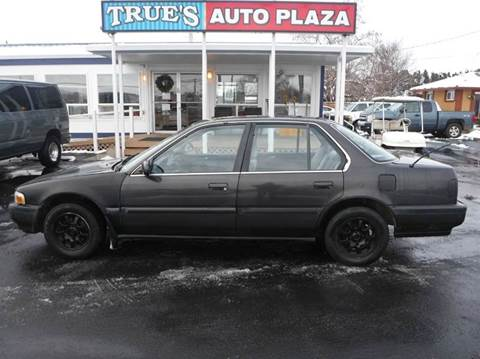 1991 Honda Accord for sale at True's Auto Plaza in Union Gap WA