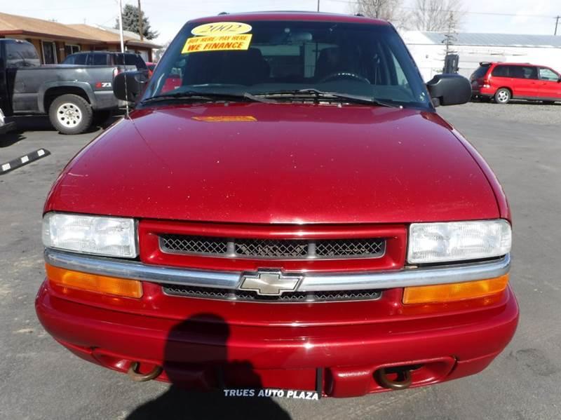 2002 Chevrolet Blazer for sale at True's Auto Plaza in Union Gap WA