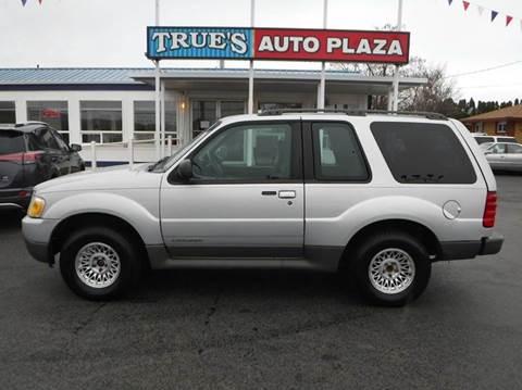 2001 Ford Explorer Sport for sale at True's Auto Plaza in Union Gap WA